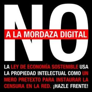 No a la mordaza digital
